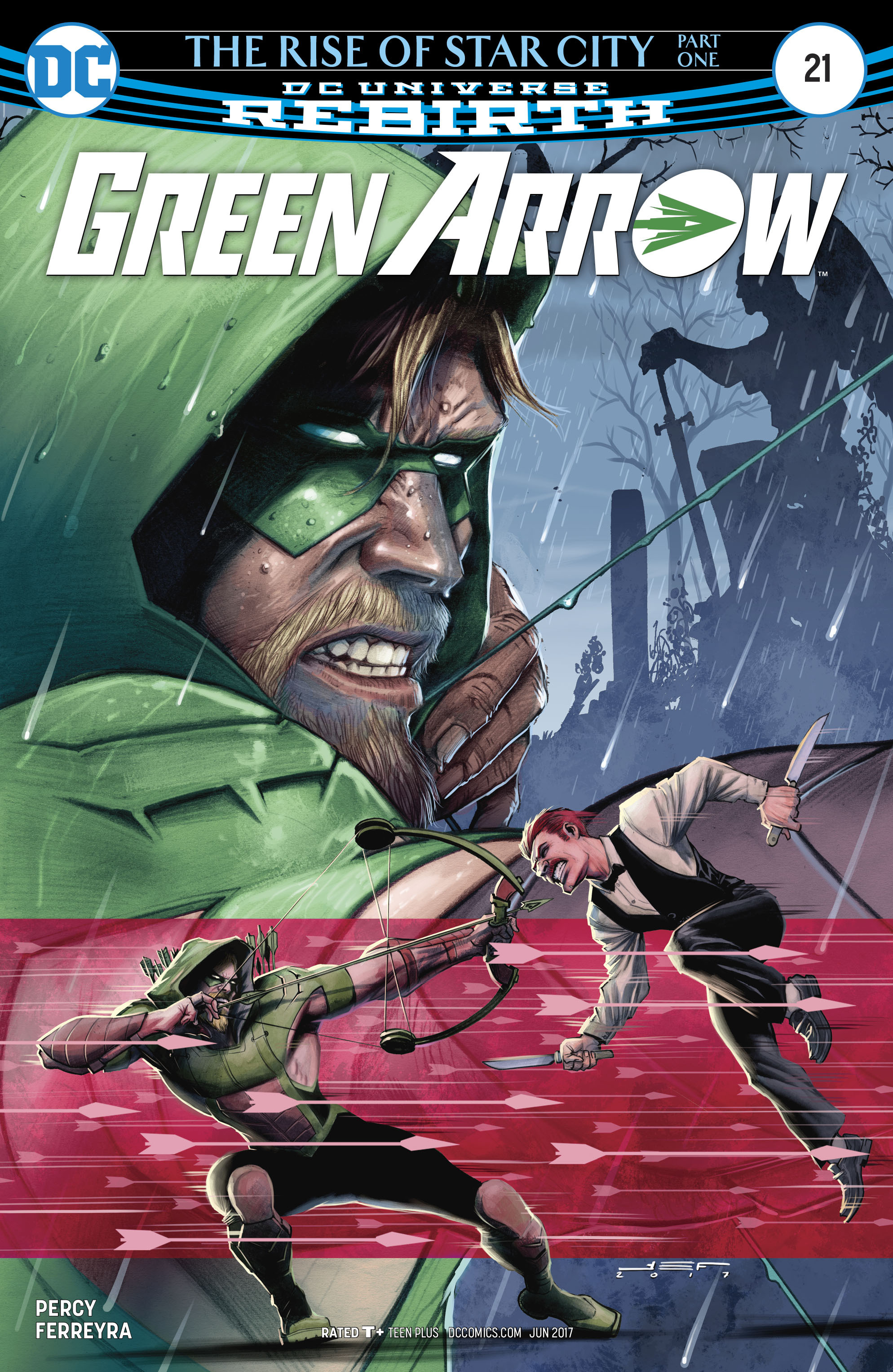 Read online Green Arrow (2016) comic -  Issue #21 - 1