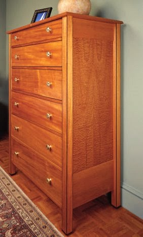 Tall Wood Dresser  Free Woodworking Project Plans