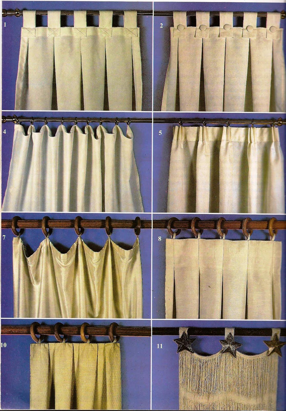 Babuchy decor elas s o um espet culo for Modelos de cortinas