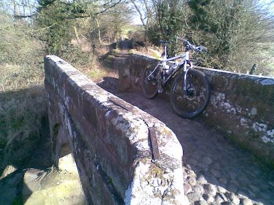 Delamere and the Packhorse Bridges