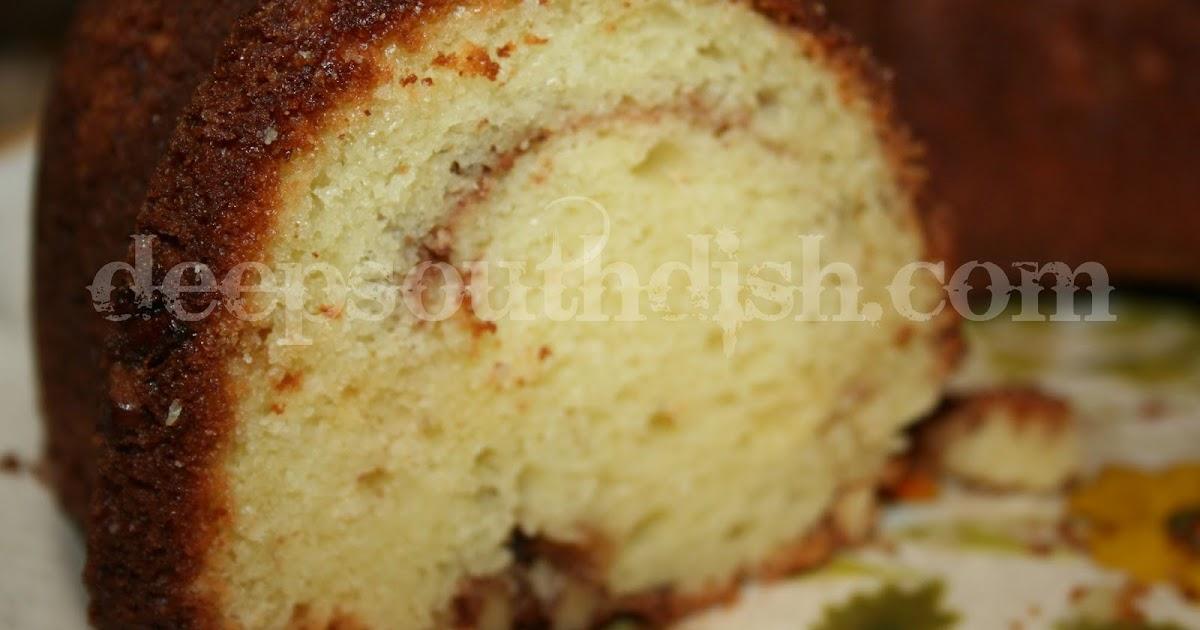 Deep South Dish Sour Cream Coffee Cake