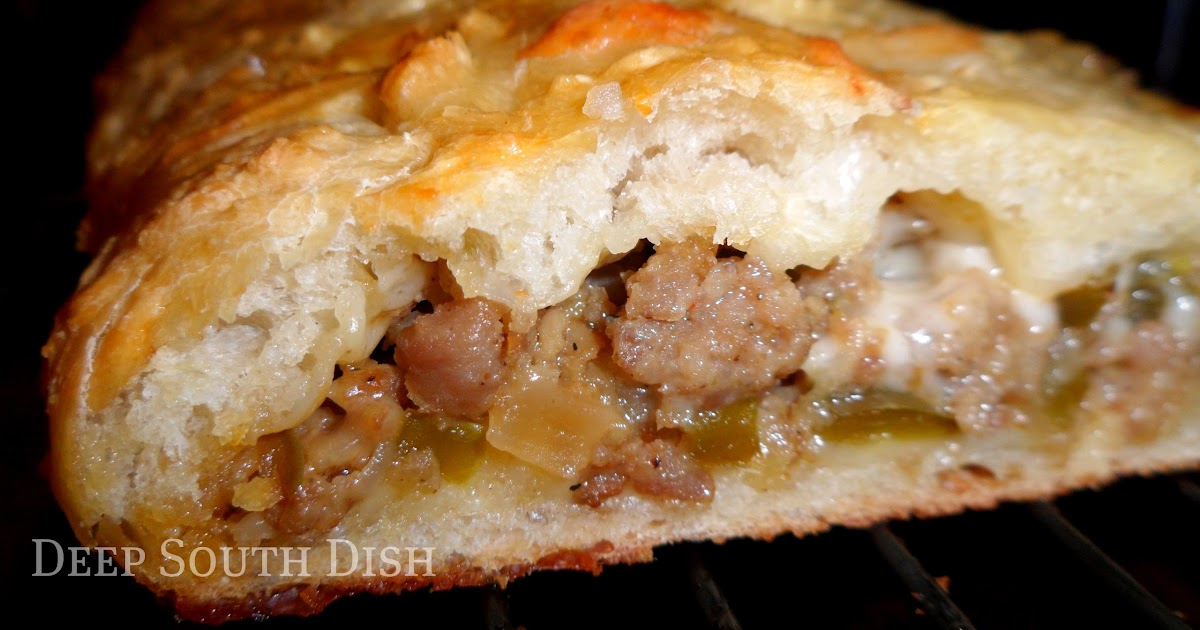 Deep South Dish Sausage And Cheese Bread