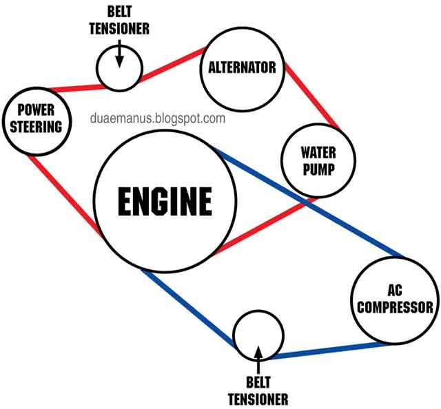 Bmw X5 Serpentine Belt Diagram Within Bmw Wiring And