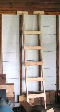 How To Matthew Simple Wood Ladder