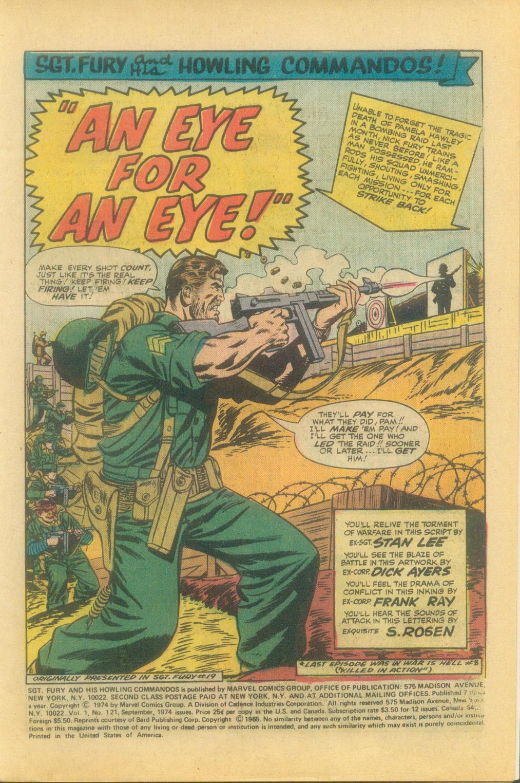 Read online Sgt. Fury comic -  Issue #121 - 3