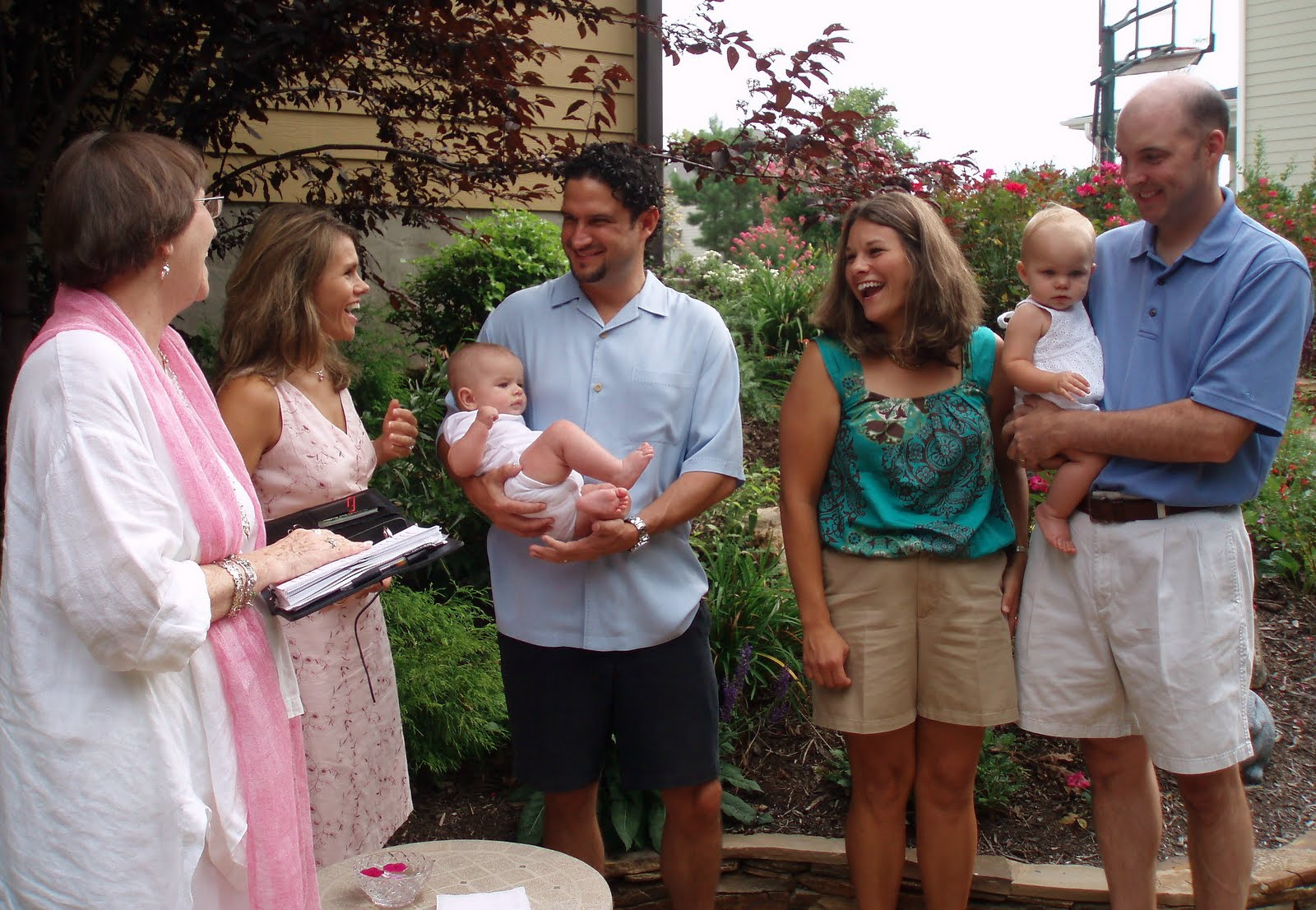Baby Blessing Blog: Double Baby Blessing for Lanie and Grady!