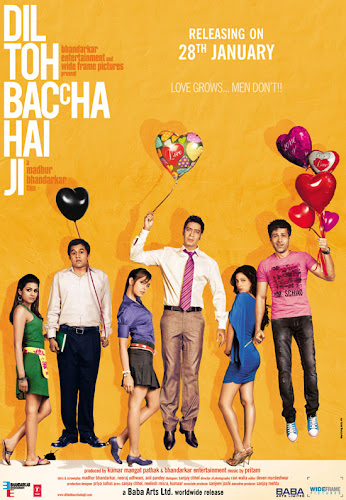 Dil Toh Bachcha Hai Ji (2011) Movie Poster