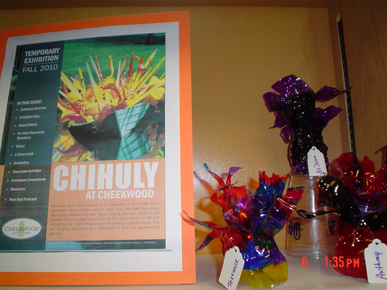 Mnps Chihuly Art Lessons Chihuly Style At Gra Mar Middle School 5th 8th Grade