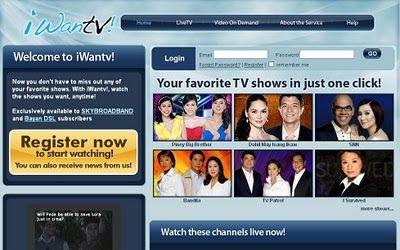 Watch Your Favorite TV Shows Online With iWantv!!!