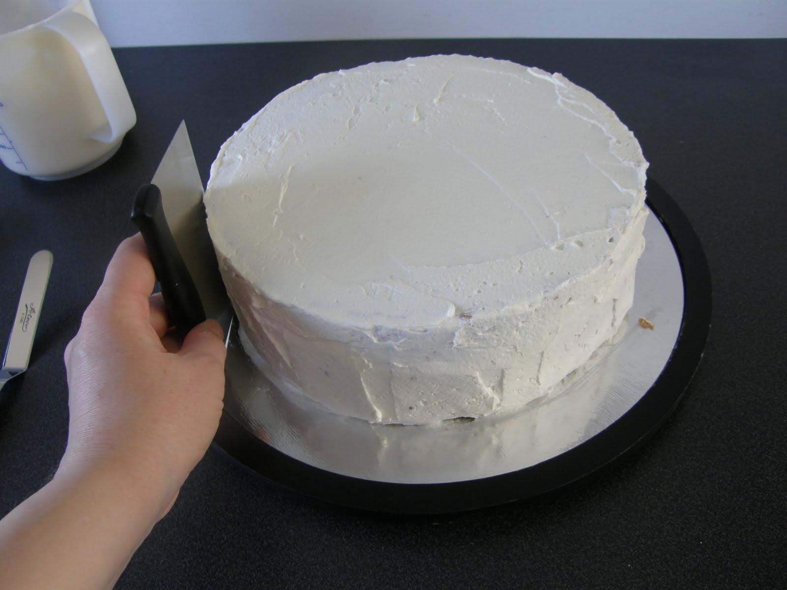 smörkräm att spackla tårta med