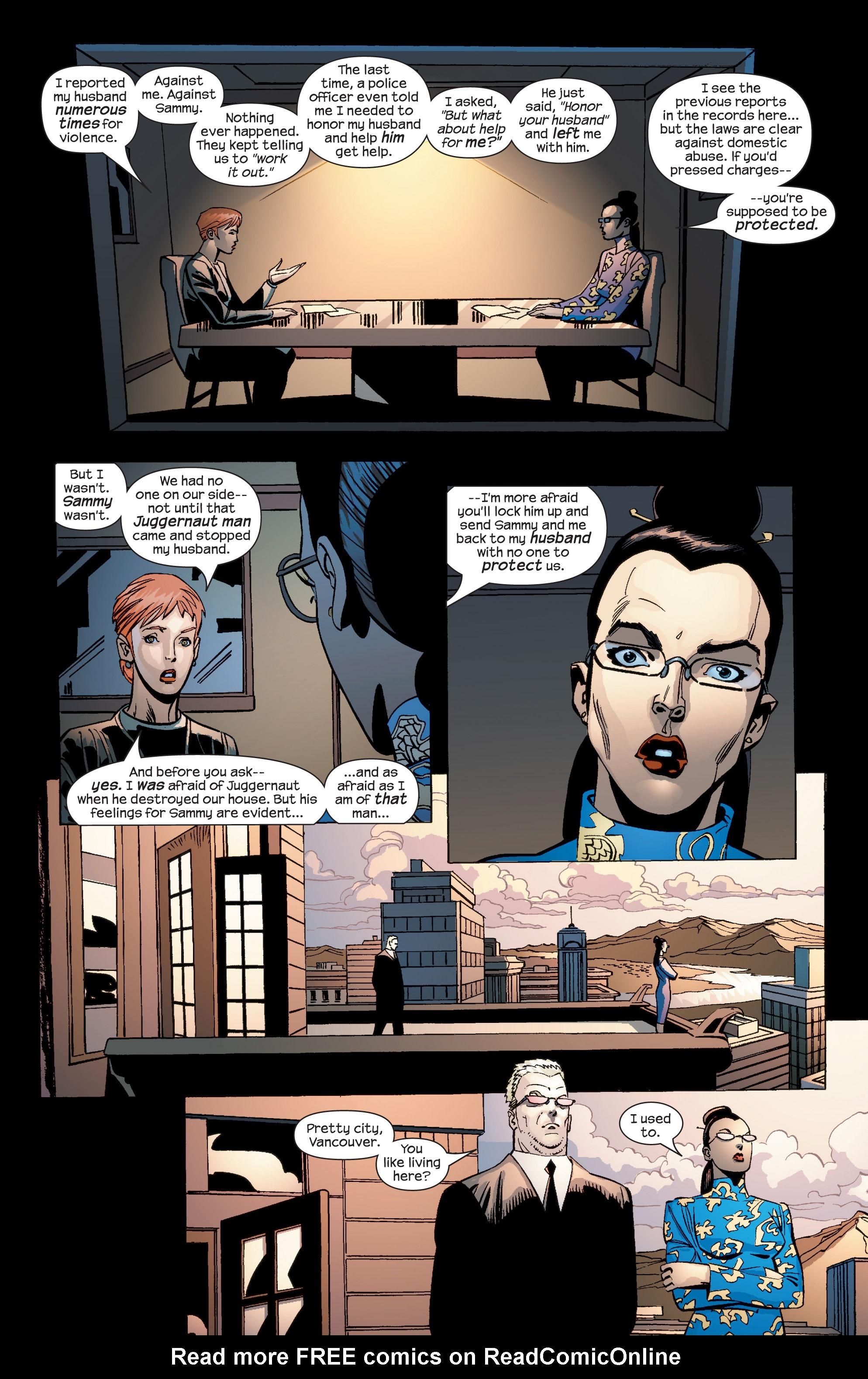 Read online Uncanny X-Men (1963) comic -  Issue #436 - 20