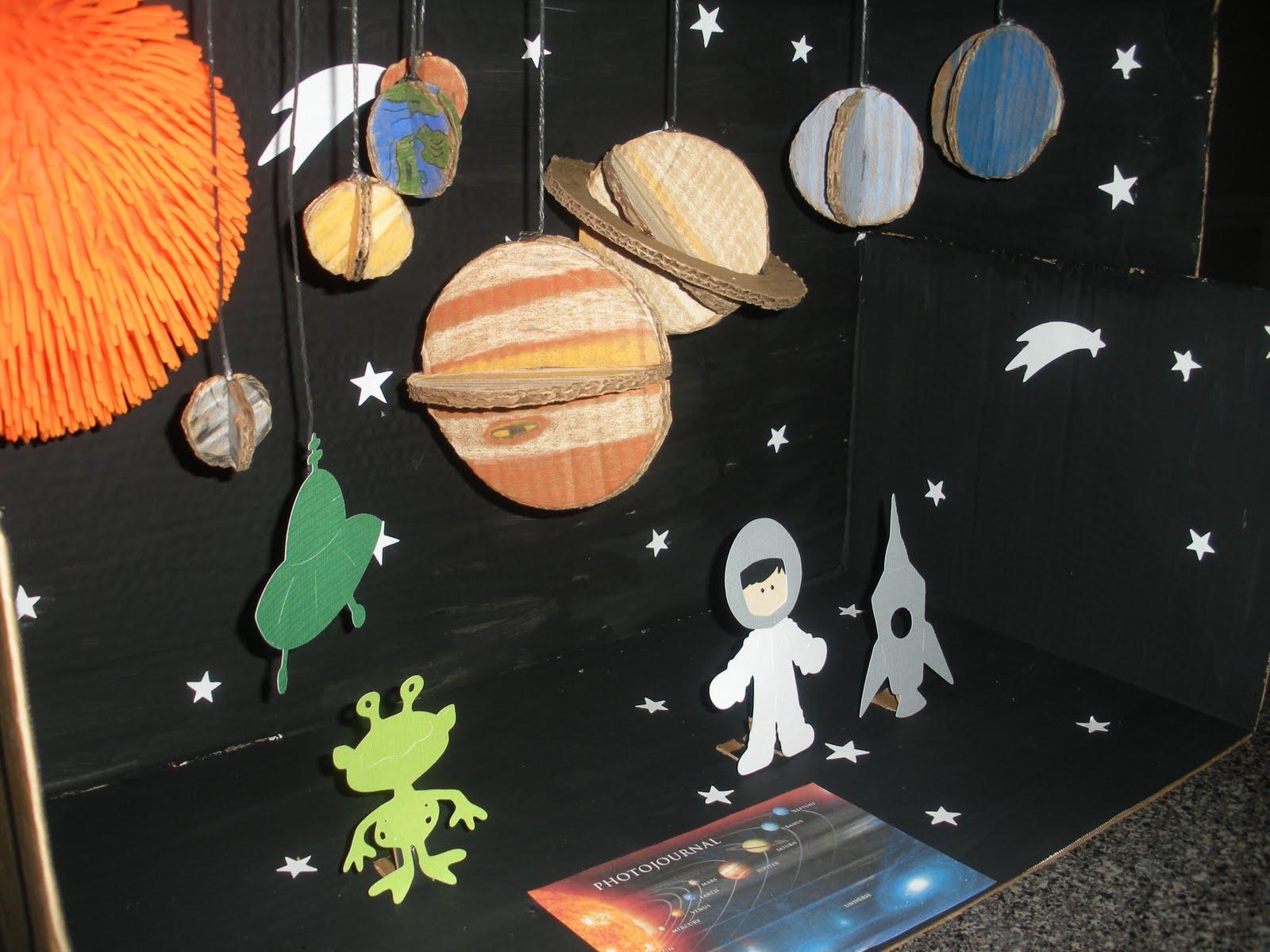 3d planets solar system shoebox - photo #49