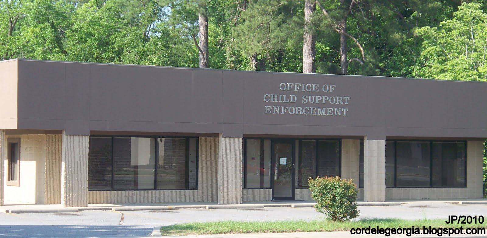 CHILD SUPPORT CORDELE GEORGIA E 16th Ave, Office Of Child Support  Enforcement, Cordele Georgia, Crisp County GA.