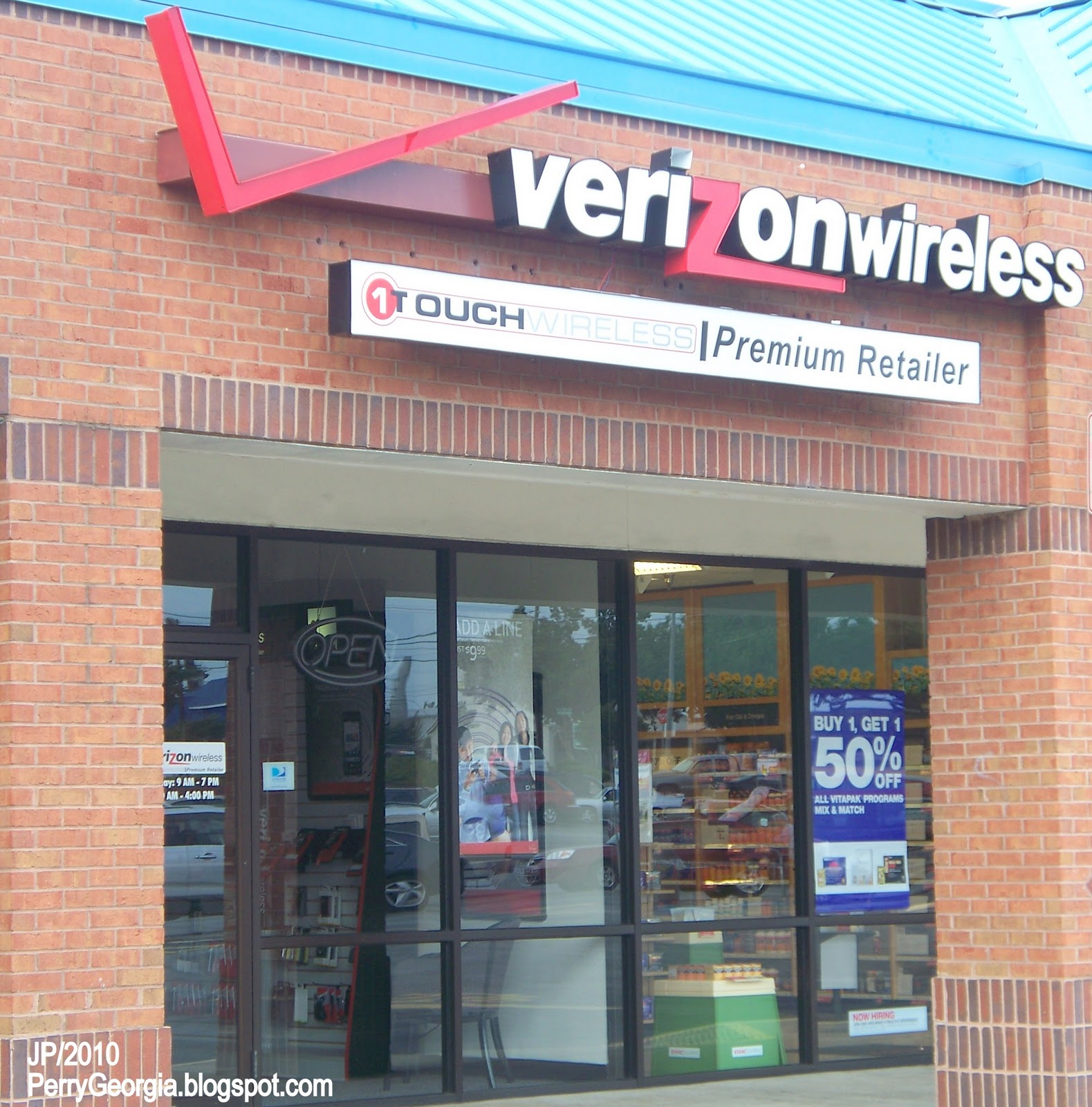 ... cell phone company, Verizon cell phone cellular service Perry GA