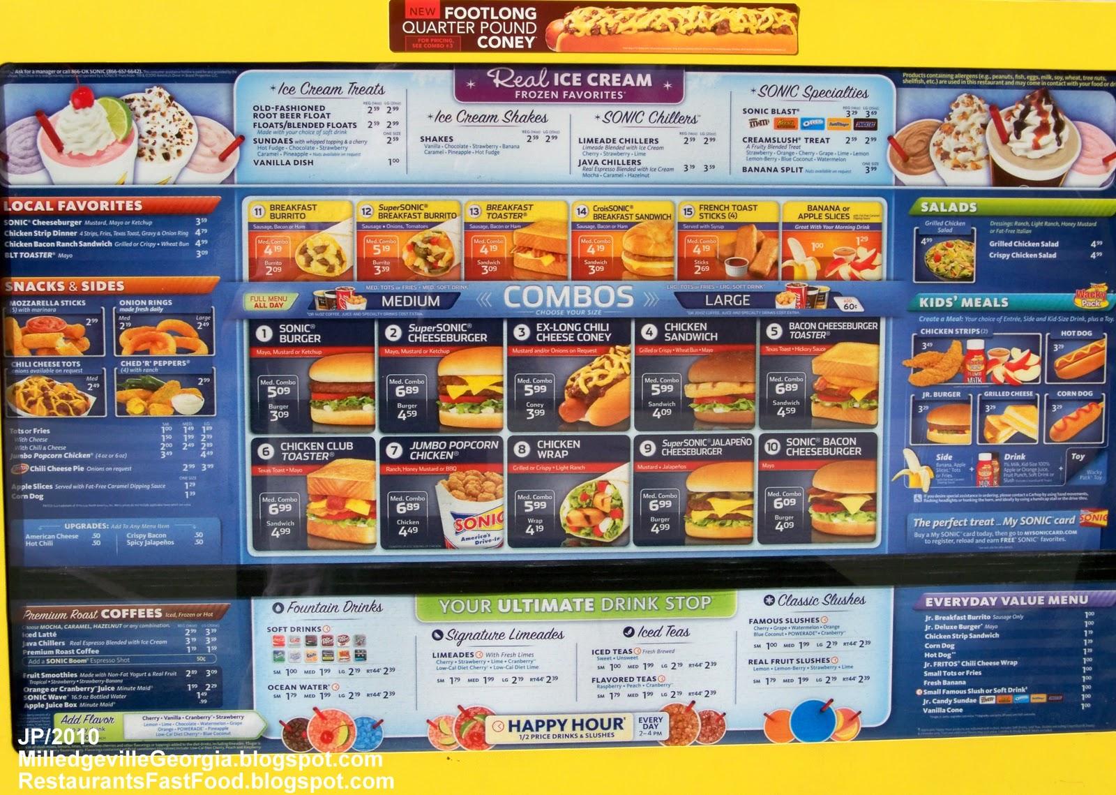 Milledgeville Fast Food