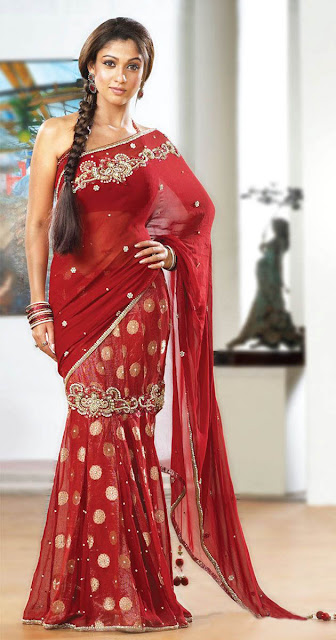 FILM ACTRESS HOT PICS: Nayanthara Cute In Red Transparent ...