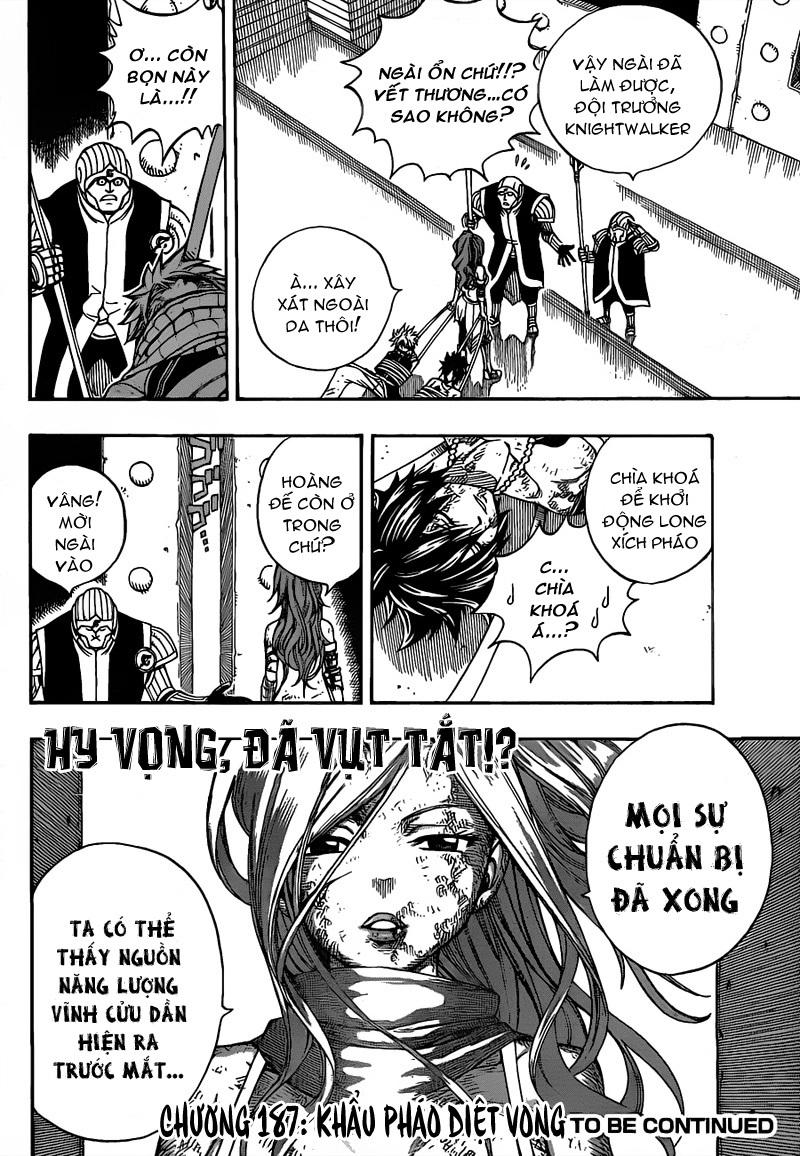 Fairy Tail chap 186 trang 20