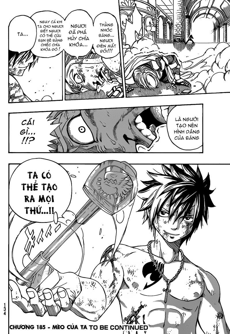 Fairy Tail chap 185 trang 19
