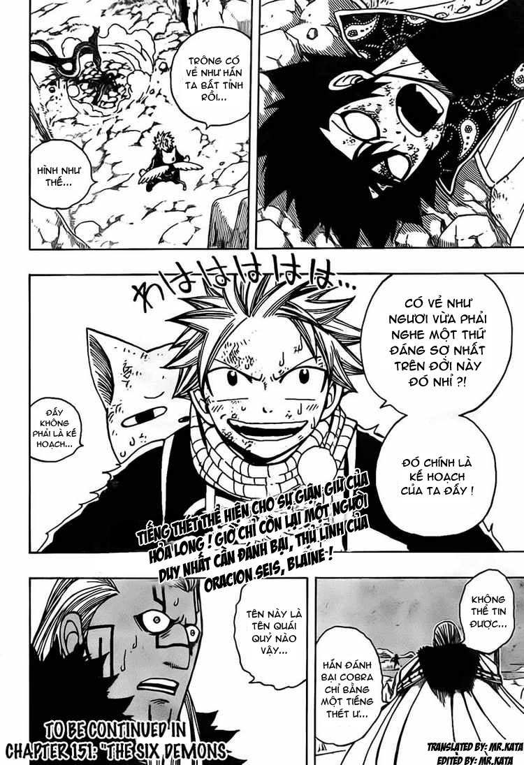 Fairy Tail chap 150 trang 19