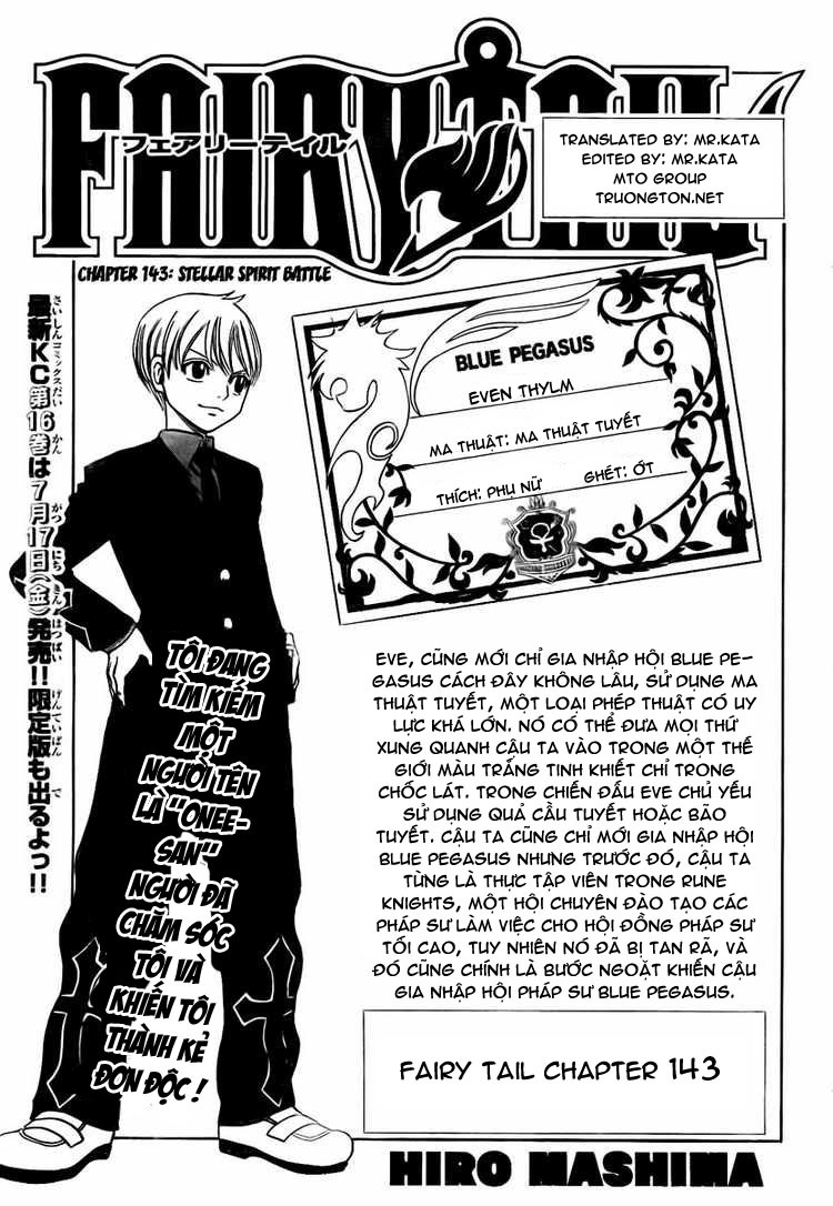 Fairy Tail chap 143 trang 1