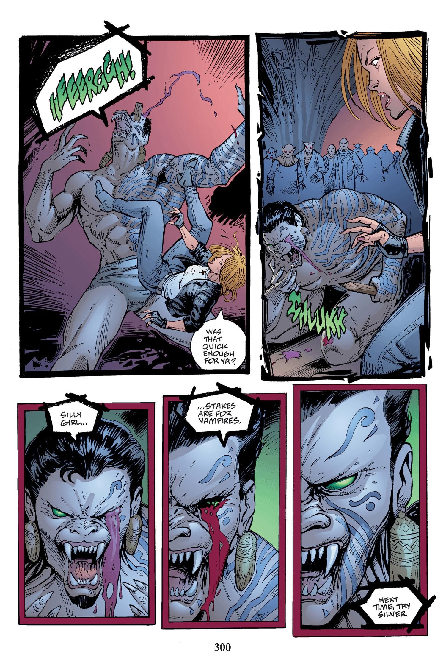 Read online Buffy the Vampire Slayer: Omnibus comic -  Issue # TPB 2 - 292