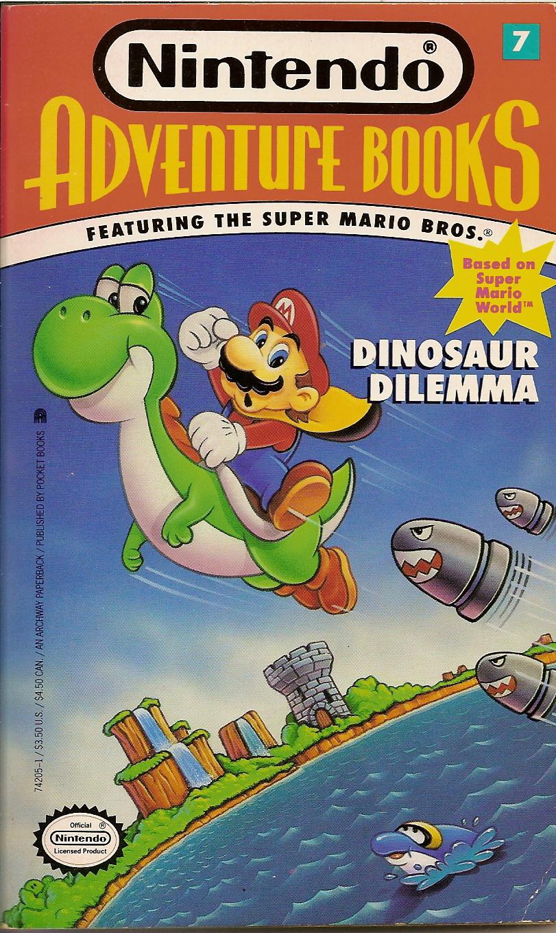 Spectrum of Madness: Nintendo Adventure Books 7: Dinosaur Dilemma