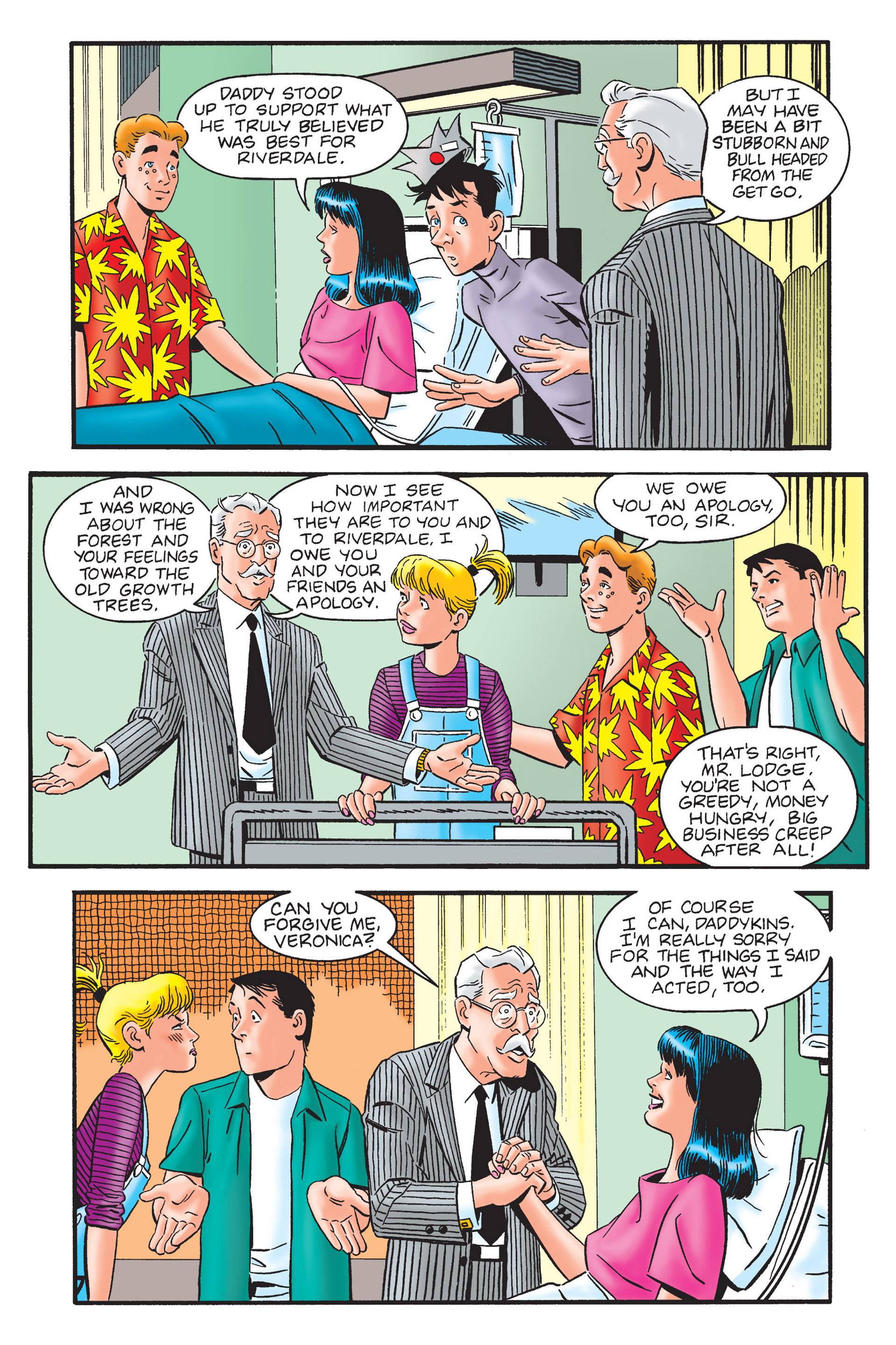 Read online Archie's New Look Series comic -  Issue #4 - 98