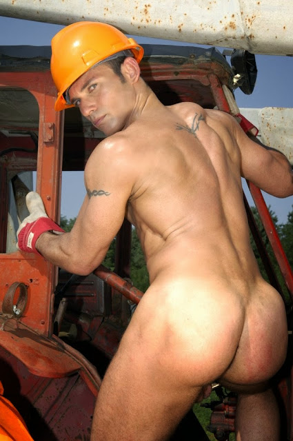 I know you love hairy working men