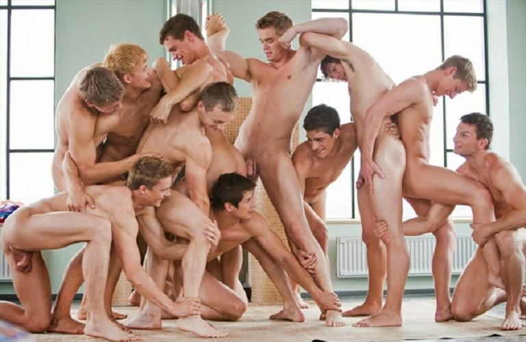 Gay boys playing spin the bottle naked