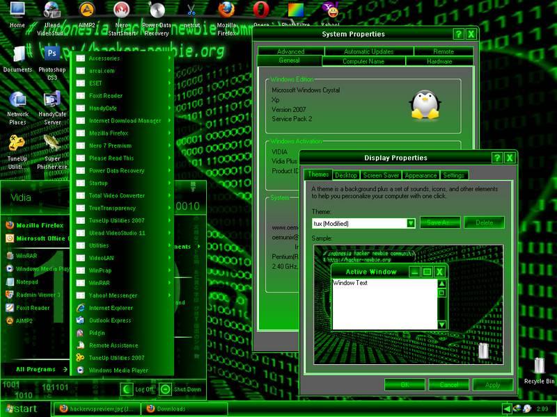 Install Hacker Theme For Your Windows System – Fondos de Pantalla