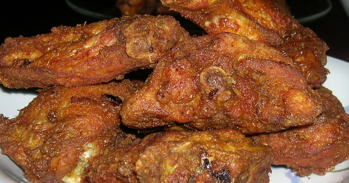 anis diary ayam goreng berempah raidah Resepi Ayam Goreng Serbuk Kari Enak dan Mudah