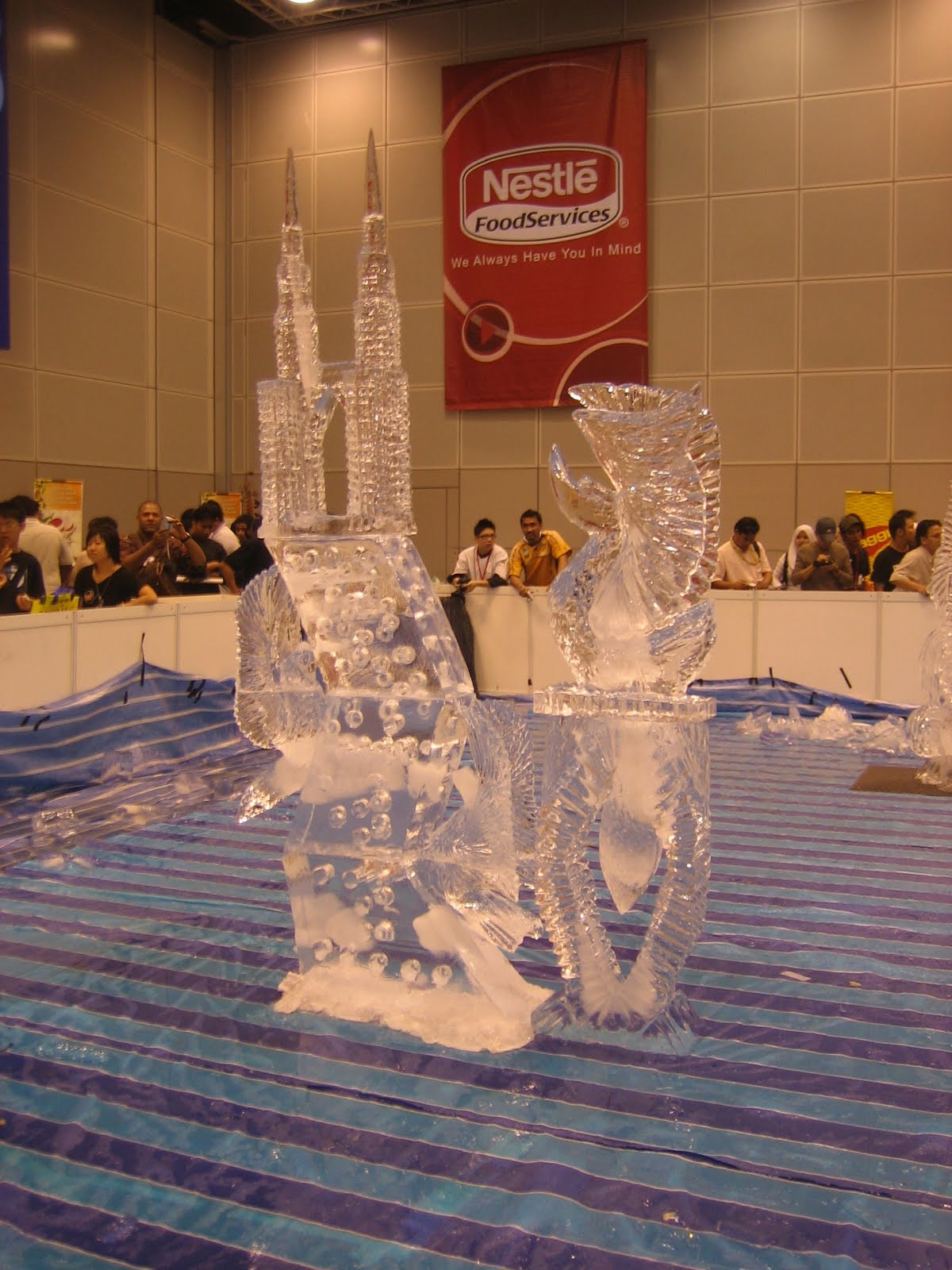 master chefcelebrity sabri hassan    learn ice carving