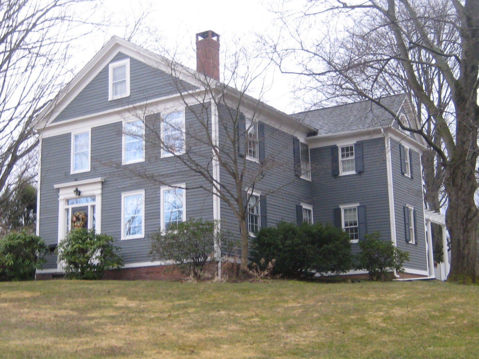 Green Street: Exterior House Colors