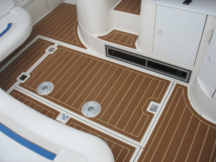 Cruisers Yachts Teak and Holly  Castaway Customs | SeaDek ...