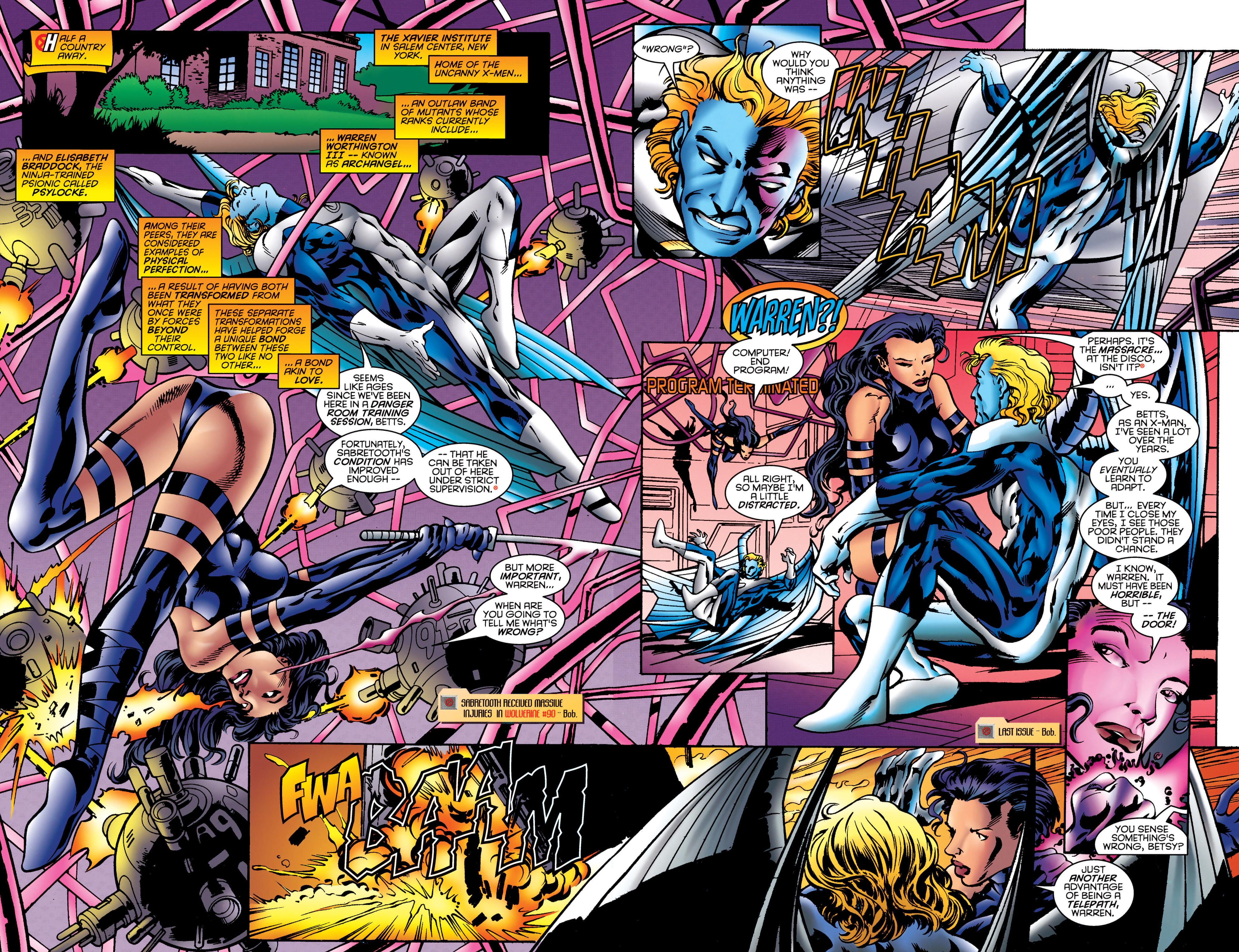 Read online Uncanny X-Men (1963) comic -  Issue #323 - 4