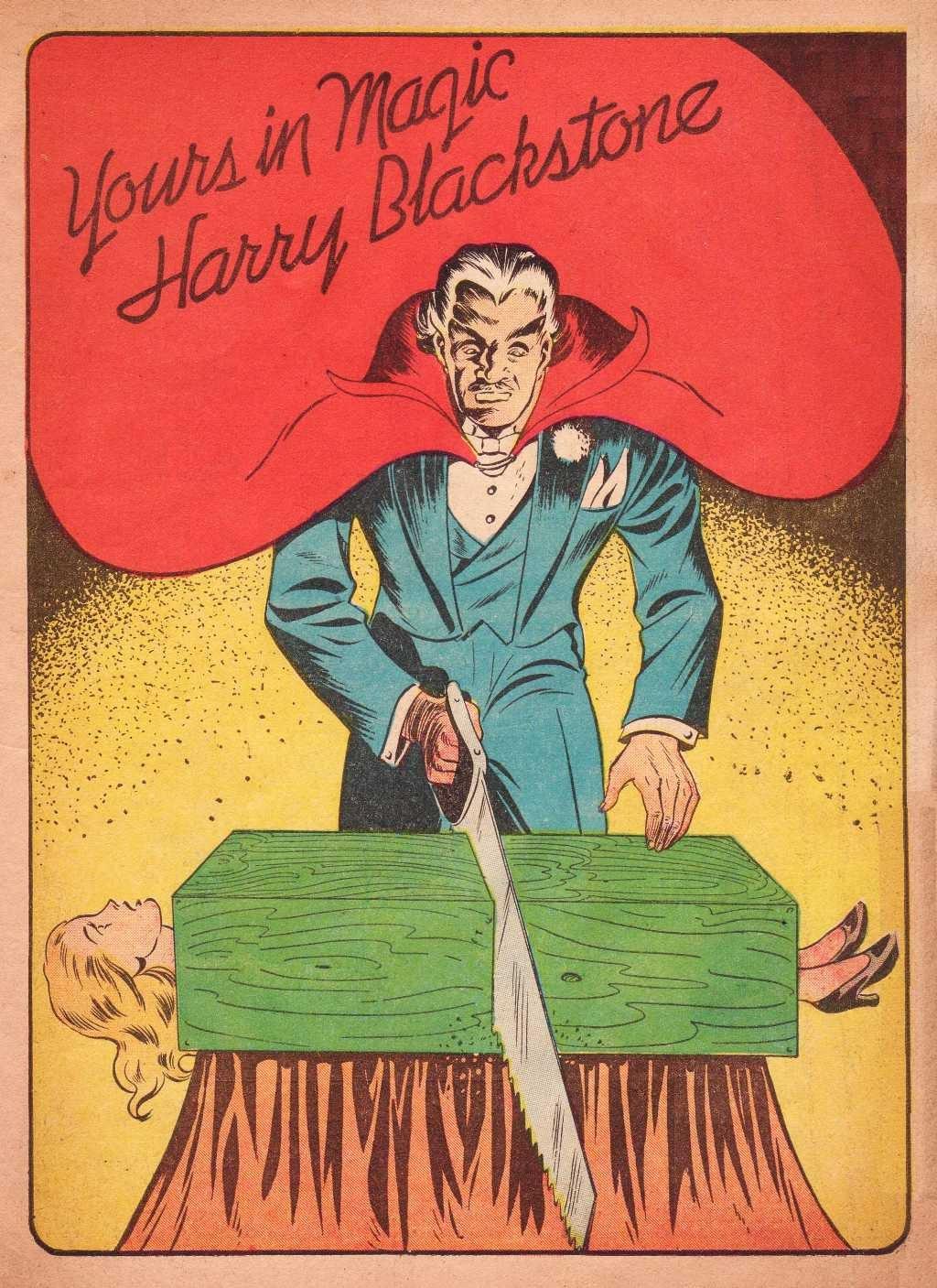 Read online Super-Magician Comics comic -  Issue #2 - 3