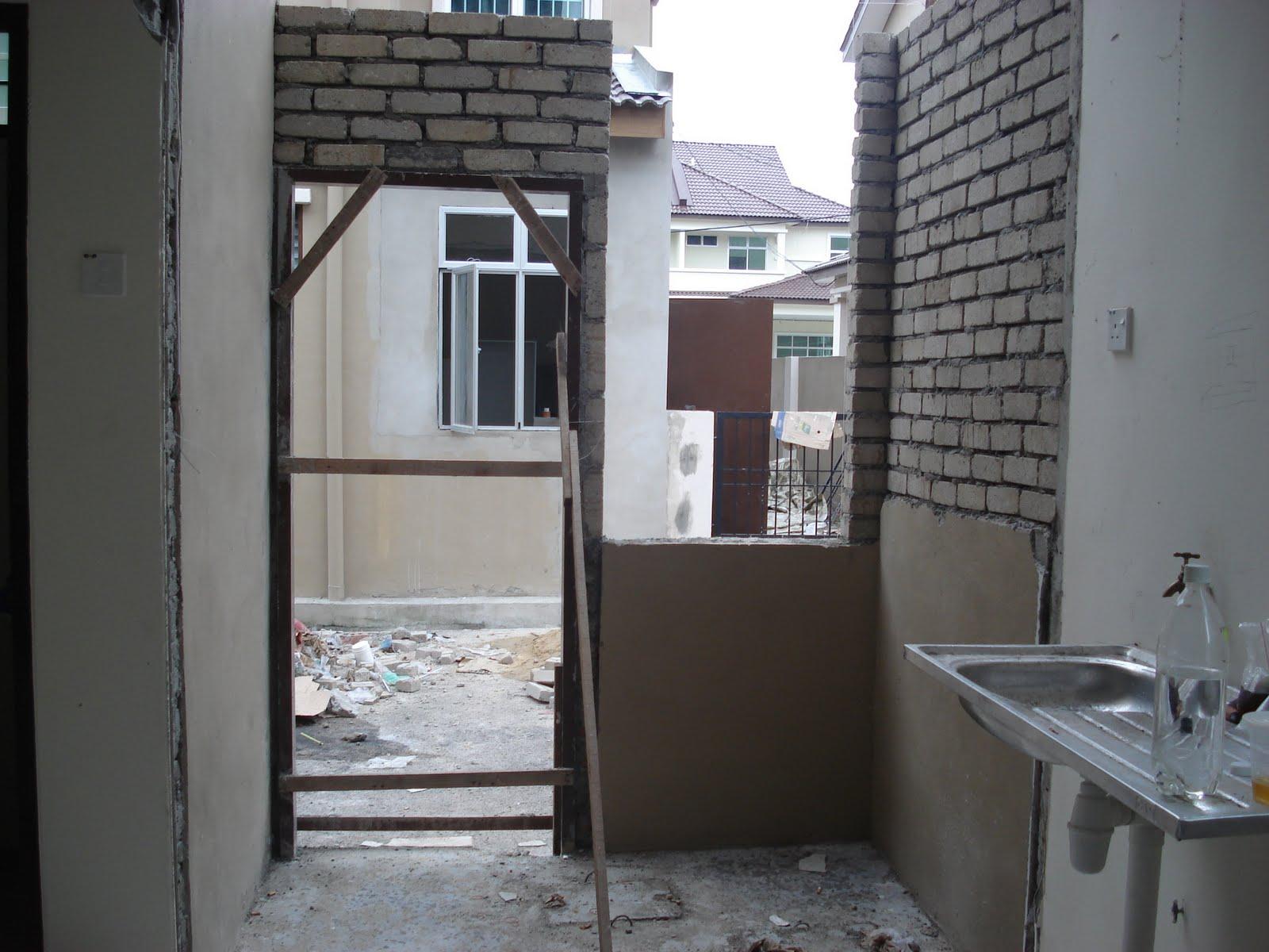 Kemarin Kitorg Pegi Umah Ke Nak Tengok Progress Renovation Dapur Yang Sekangkang Tupai Tu Huhuhu Alhamdulillah Dah Nampak Rupa Dinding Baru Minggu