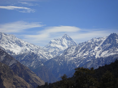 Himalayan Range from Auli