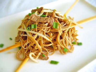 Teriyaki Beef and Soba Noodles