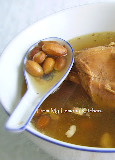 Chicken Soup with Peanuts...