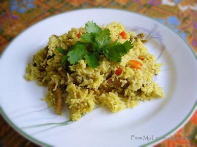 one pot beef briyani