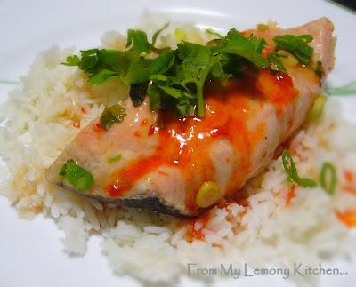 Sweet Chilli Salmon