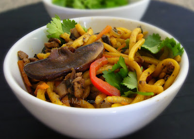 Beef,Noodle,Veg stir fry with Black Bean sauce