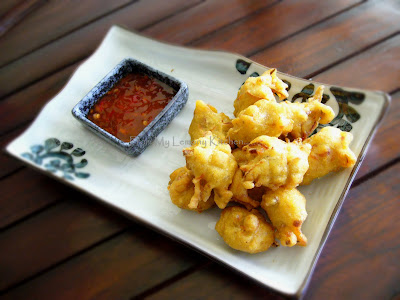 cucur kodok ikan bilis/dried anchovies fritters