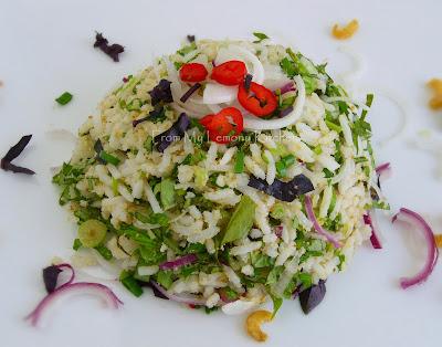 Nasi Ulam / Rice Salad