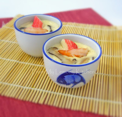 Japanese Savoury Custard recipe