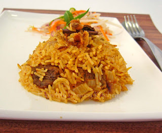 Nasi Daging Tomato / Beef with Tomato Flavoured Rice