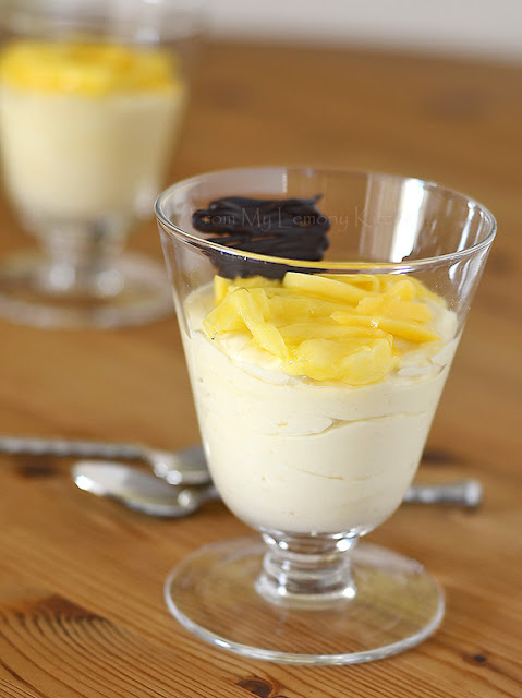 Creamy Mango Mousse