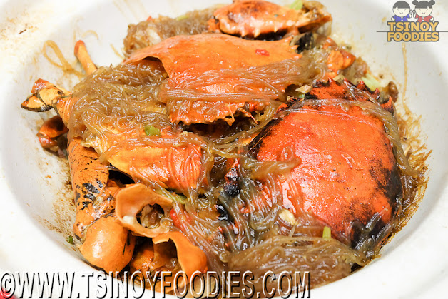 sauteed crab in hot pot