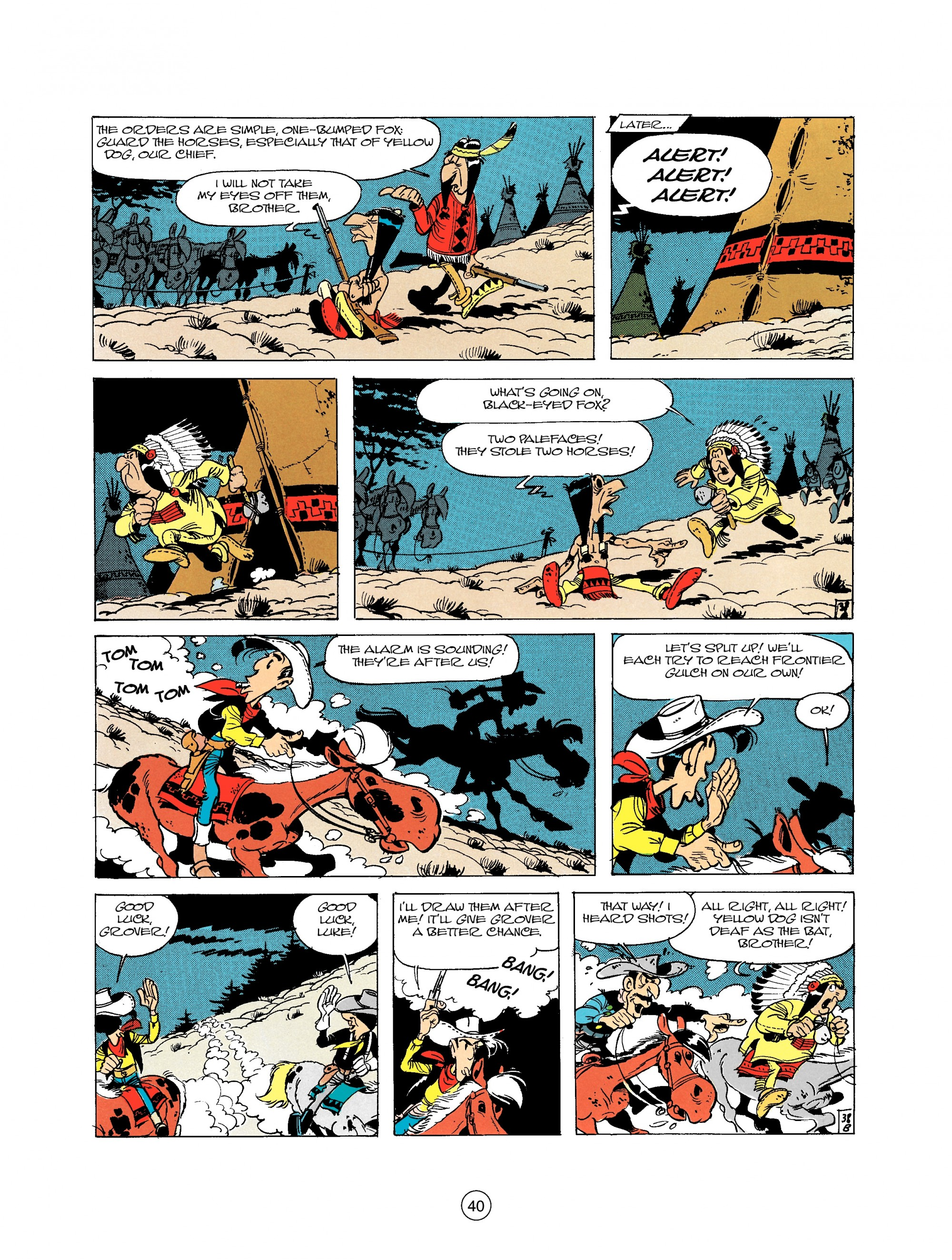 Read online A Lucky Luke Adventure comic -  Issue #21 - 40